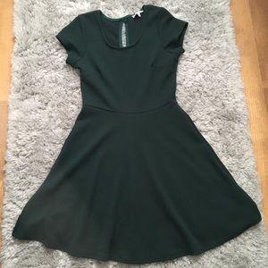Emerald Green Skater Dress Charlotte Russe